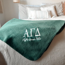 Lightweight Sorority Fleece Throw