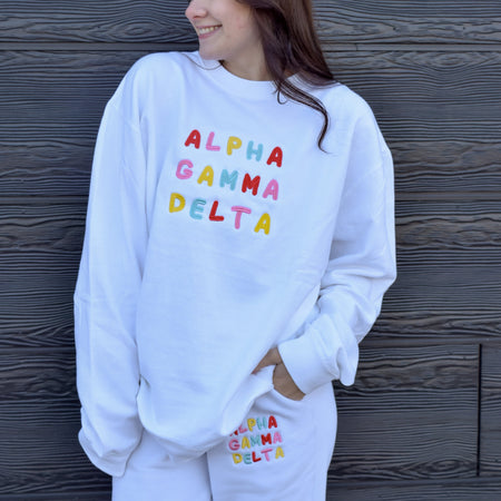 Bright & Fun Sorority Sweat-Set