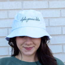 Sorority Script Bucket Hat
