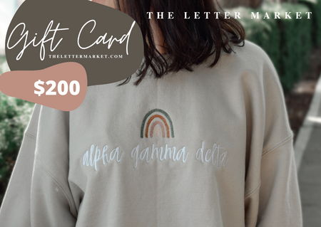The Letter Market E-Gift Card