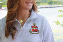 Sorority Crest 1/4 Zip