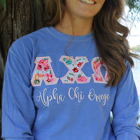 """The Rose"" - Off the Rack Sorority Long Sleeve"