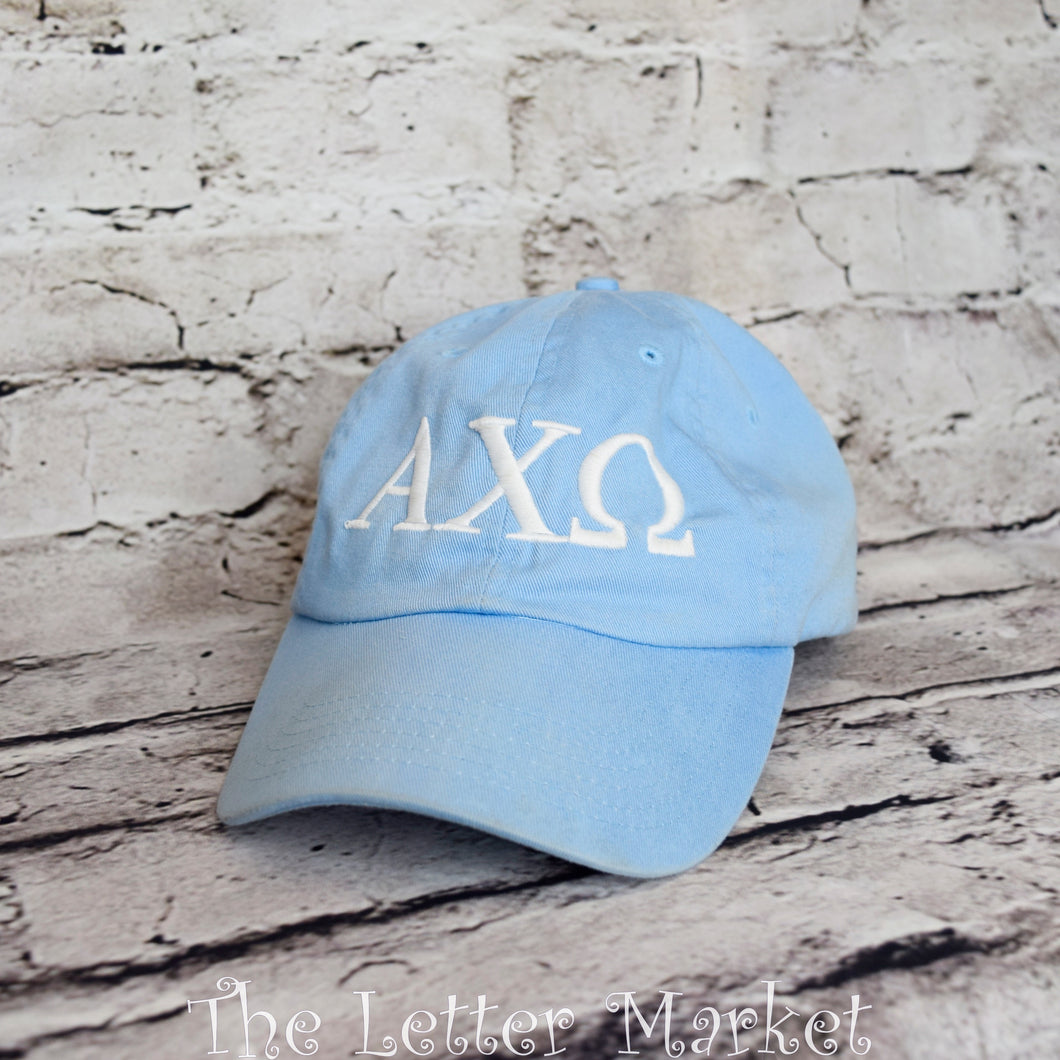 Sorority Baseball Hat - The Letter Market