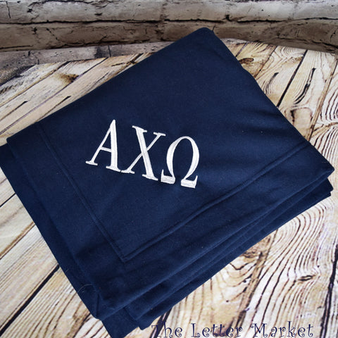 Sorority Sweatshirt Blanket - The Letter Market