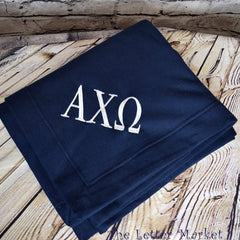 Sorority Sweatshirt Blanket