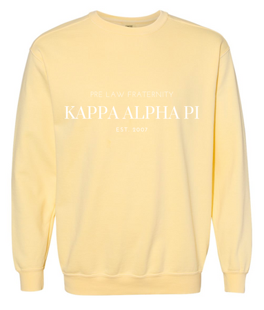 KAP Simple Comfort Colors Crewneck