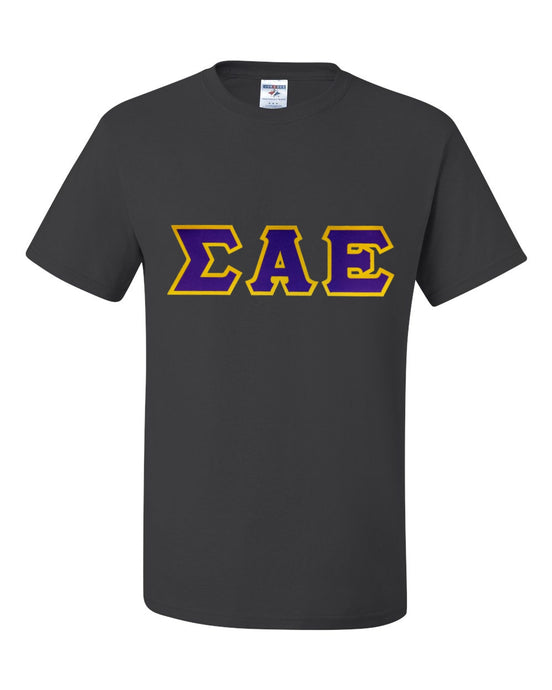 Fraternity - Two Layer Tackle Twill Short Sleeve Tee Shirt