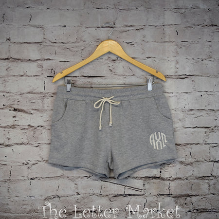 Fleece Drawstring Shorts - The Letter Market