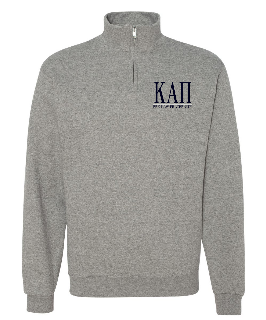 KAP Pre-Law Fraternity JERZEES 1/4 Zip