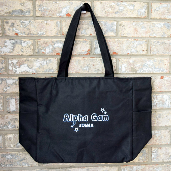 Shine Bright Bid-Day Tote