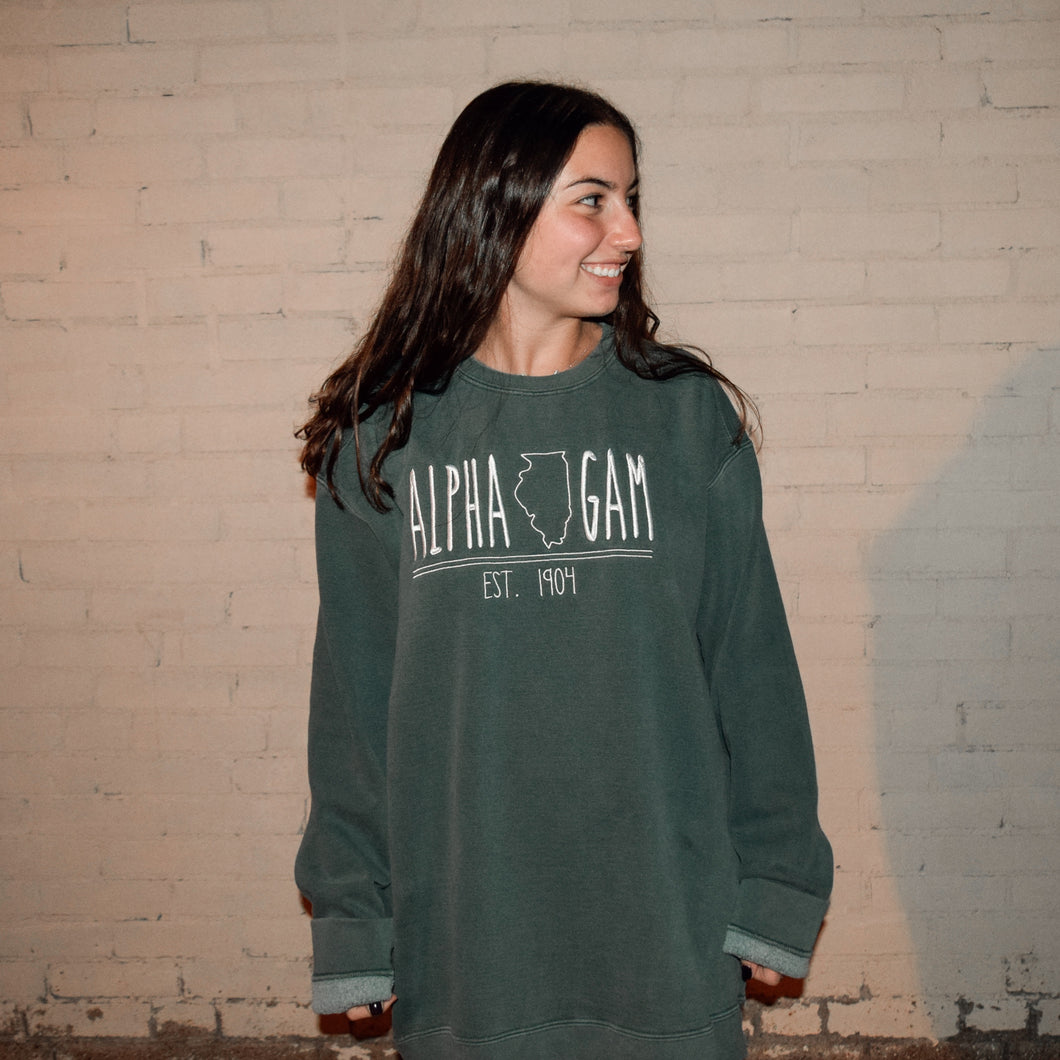State of Mind Comfort Colors Crew