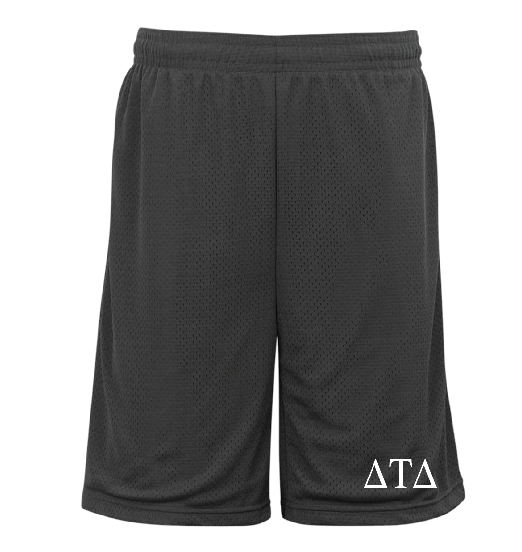 Fraternity - Pocketed Mesh Shorts