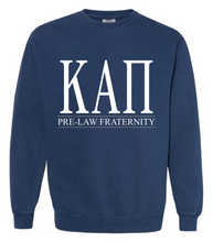 KAP Pre-Law Fraternity Comfort Colors Crewneck