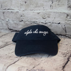 Scripted Sorority Visor