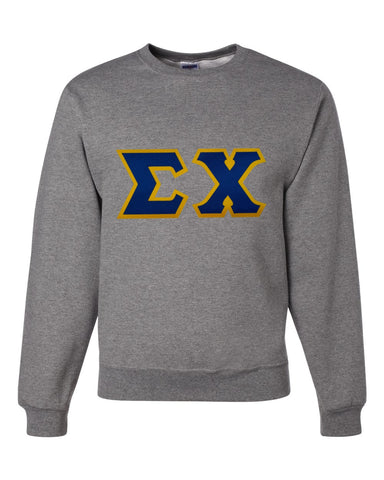 Fraternity - 2 Layer Tackle Twill Crewneck