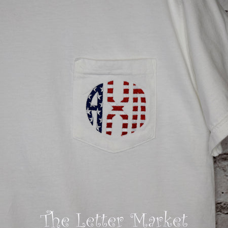 Patriotic Pocketed Tee - The Letter Market