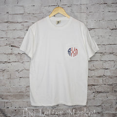 Patriotic Pocketed Tee