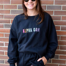 Simple Rainbow Letters Sorority Crew