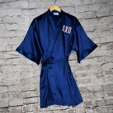 Sorority Silk Robe