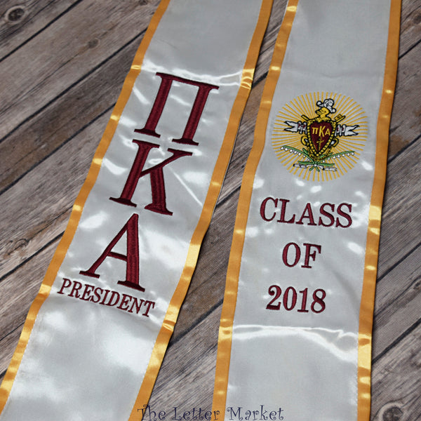 Fraternity Graduation Stole - The Letter Market