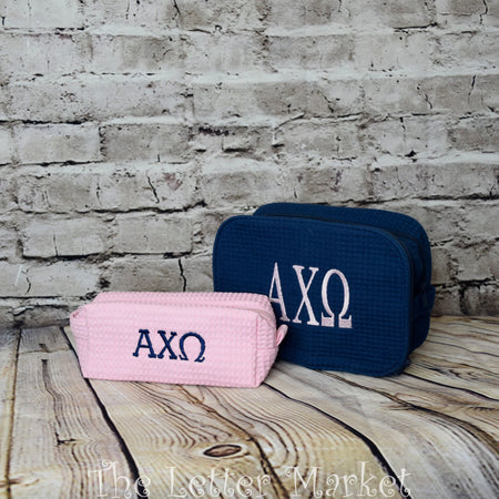 Sorority Makeup Bag