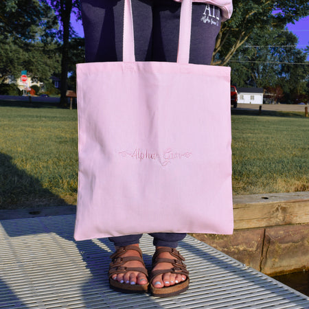 Tone on Tone Bid Day Tote