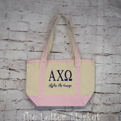 Sorority Tote Bag-Bid Day