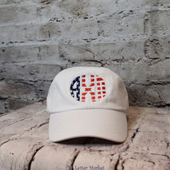 Sorority Patriotic Baseball Hat