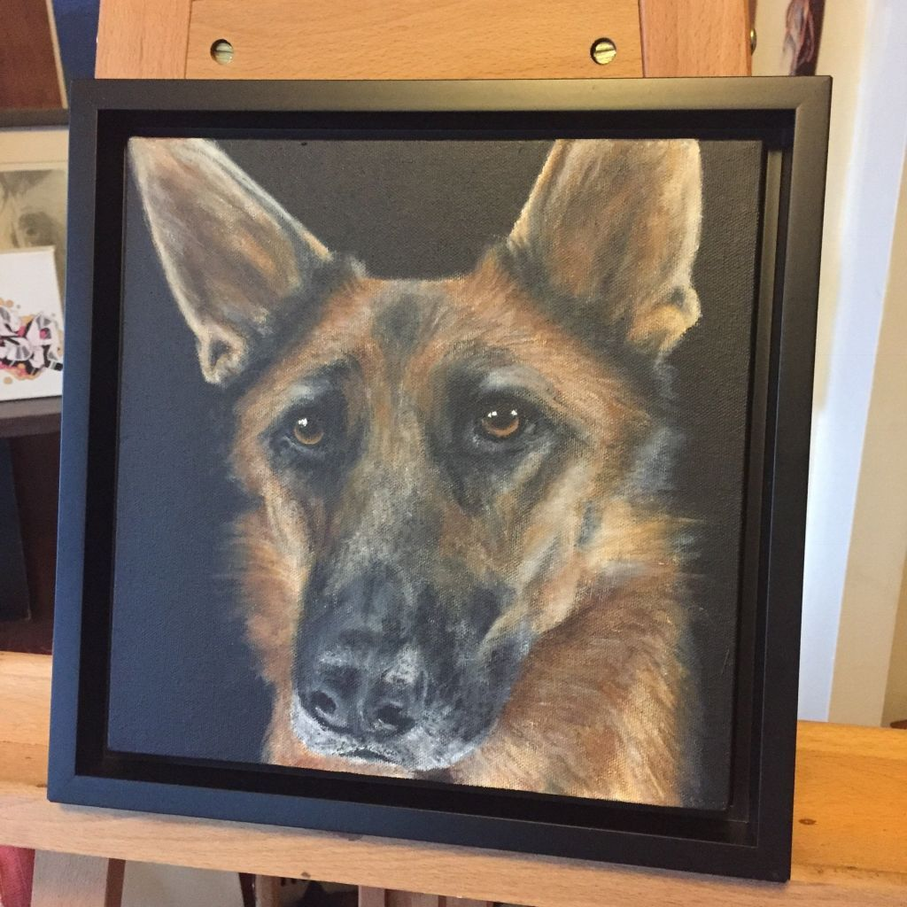 Wolfie Pet Portraits