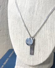 Compass & Coordinates Tag Necklace