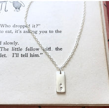Initial Necklace, Longer Tags - from $28