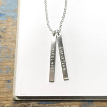 Medium Bar Necklace ~ from $52