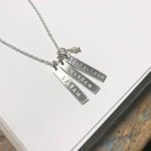 Save-The-Date Necklace
