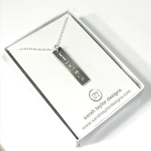 Vertical Name Necklace ~ from $44