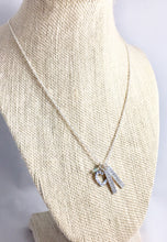 Small Open Heart & Tag Necklace - from $36