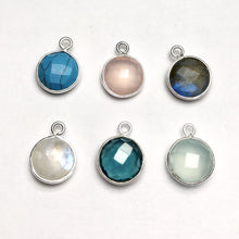 Faceted Gem Earrings - Shepherd Hooks