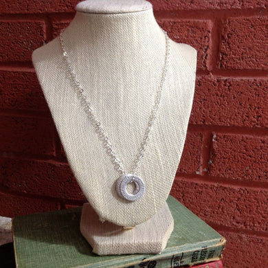 Family Circles Necklace ~ Large (& Long) From $48