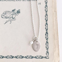 Large Oval Monogram Necklace - From $30
