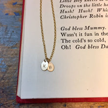 Oval Monogram Necklace - Gold Filled Group Gift Ideas
