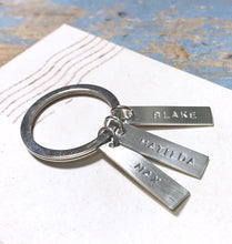 Larger Tag Key Ring - From $20