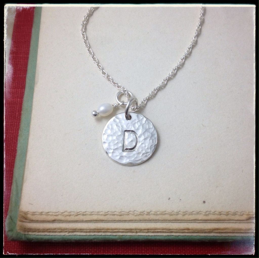 Large Monogram Circle Necklace - From $34