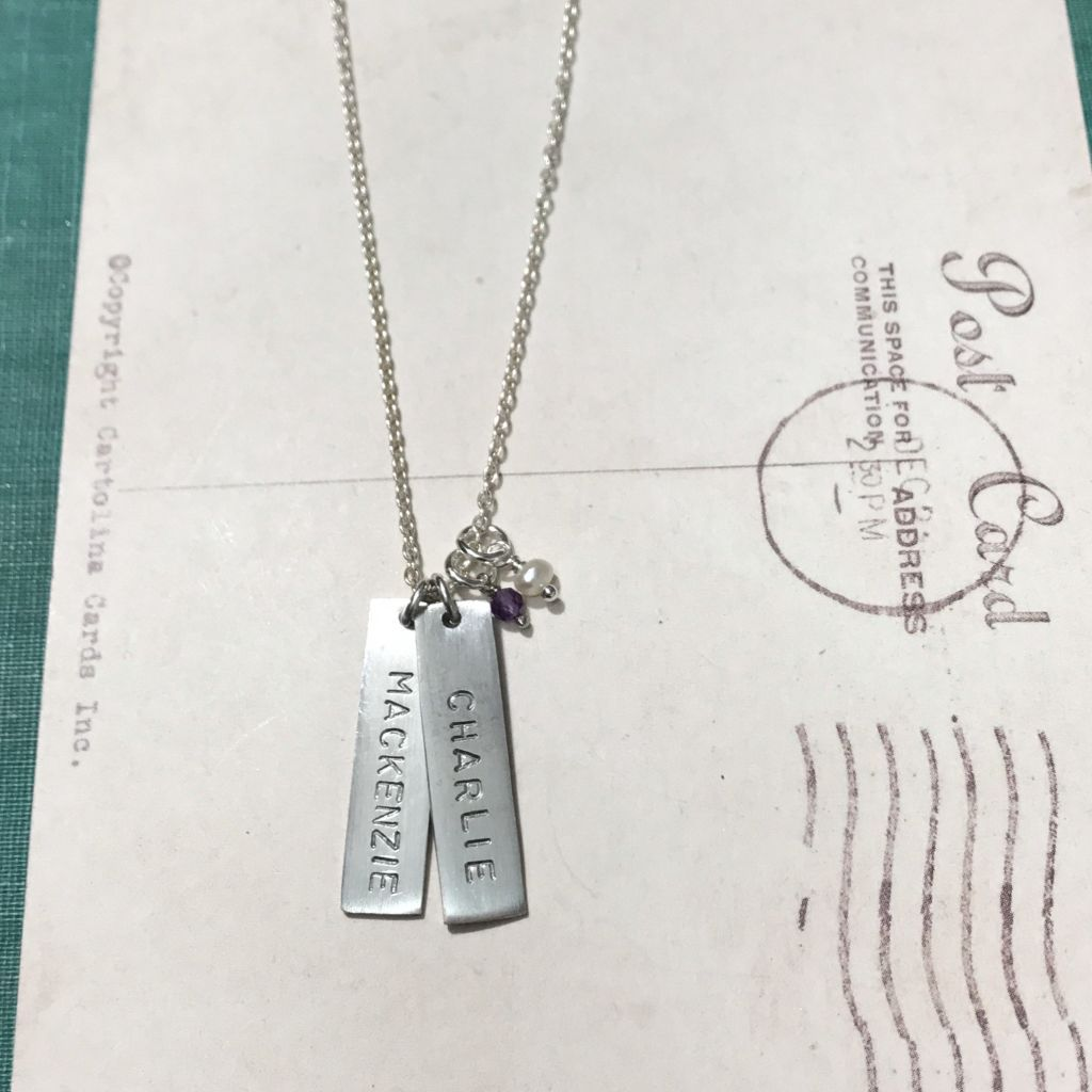 Larger Original Tags ~ From $36 Tag Necklaces