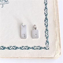 Monogram Tag Charms -From $8 A La Carte
