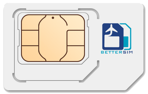 BetterSIM FREE to Roam Card with 1 Year of Service