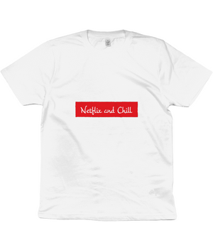 Unisex Netflix and Chill Tshirt.