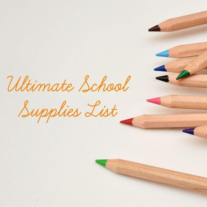 Class Tracker's Ultimate College School Supply List