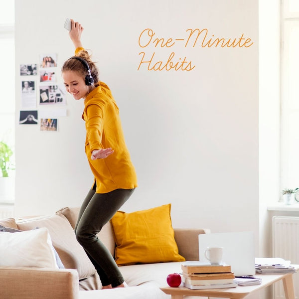 One minute habits for study success
