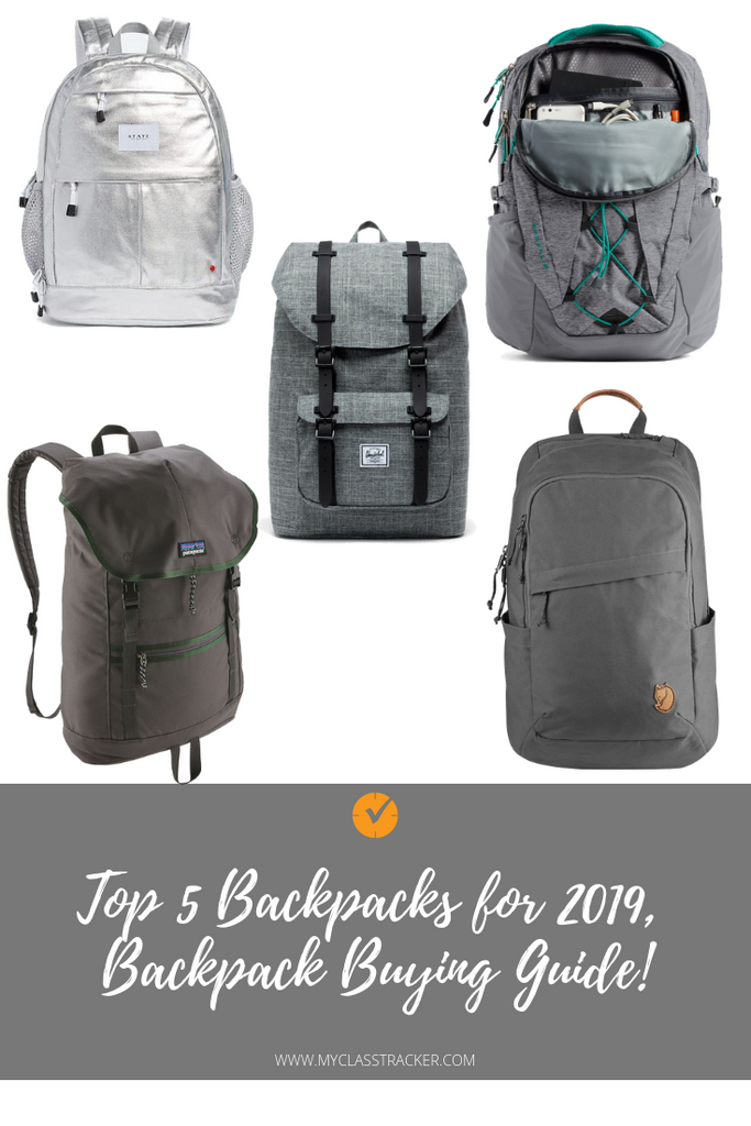 Top 5 Backpacks
