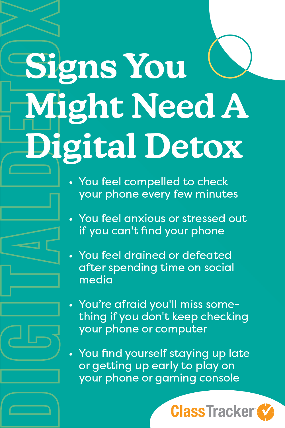 Signs You Might Need A Digital Detox