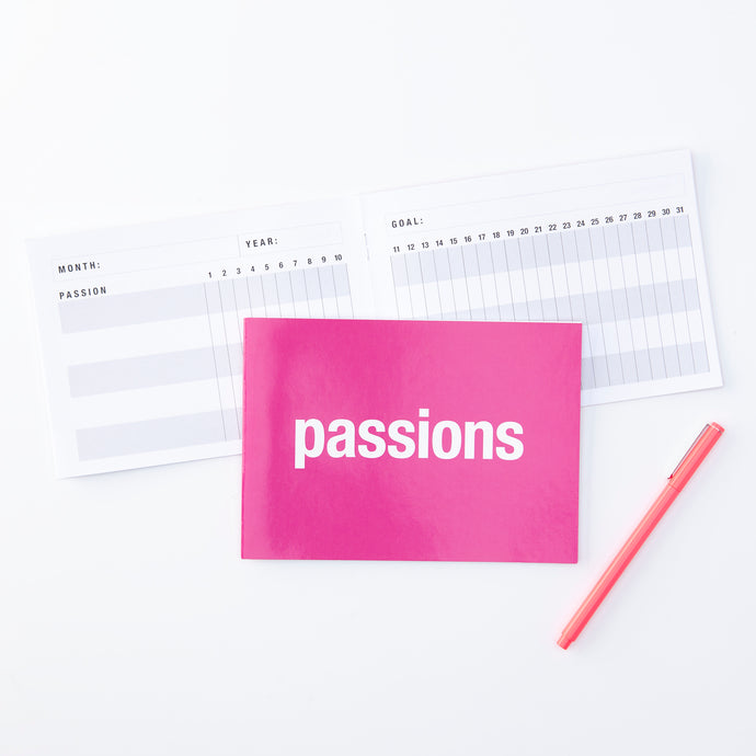 Passions Notebook